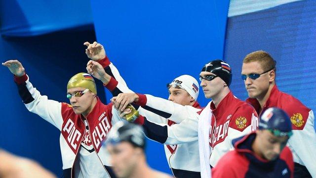 Російських плавців засвистали під час естафети на Олімпійських іграх в Ріо