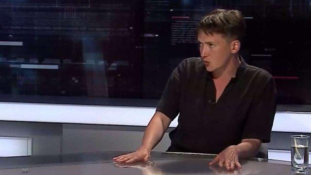 Надія Савченко має намір ночувати з матерями полонених під Адміністрацією президента