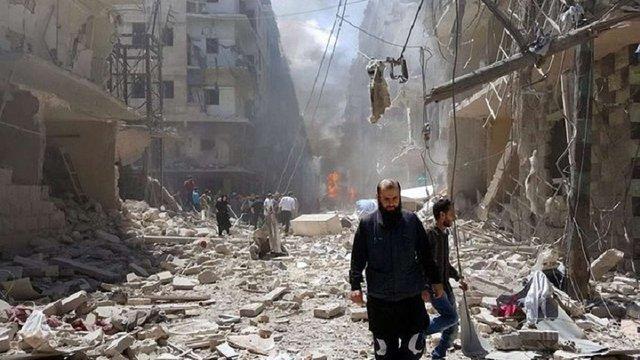 ООН закликала ввести режим тиші в сирійському місті Алеппо