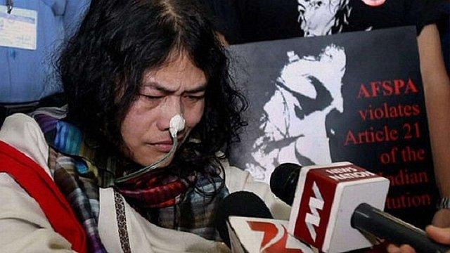 В Індії активістка завершила 16-річне голодування для участі в виборах