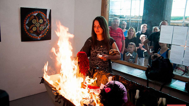 В Івано-Франківську  «поховали» Центр Сучасного Мистецтва