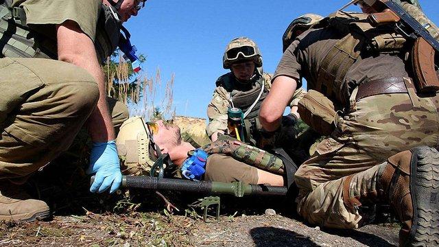 На Яворівському полігоні випустили перших інструкторів з тактичної медицини