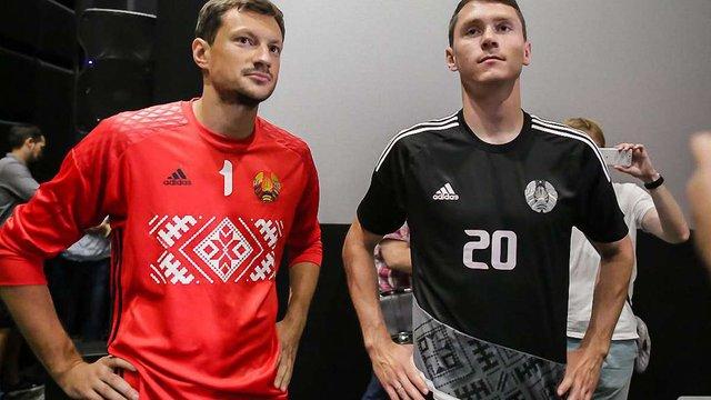 Збірна Білорусі з футболу виступатиме у формі з вишиванкою