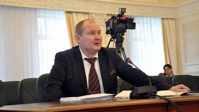 Викритий на хабарі суддя Микола Чаус пішов у відпустку