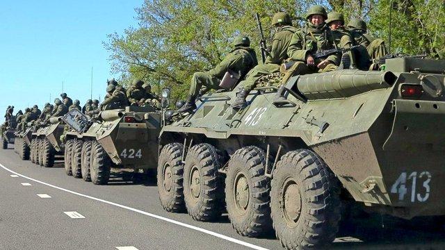Росія перекинула на Донбас чергову колону техніки і боєприпасів, - розвідка