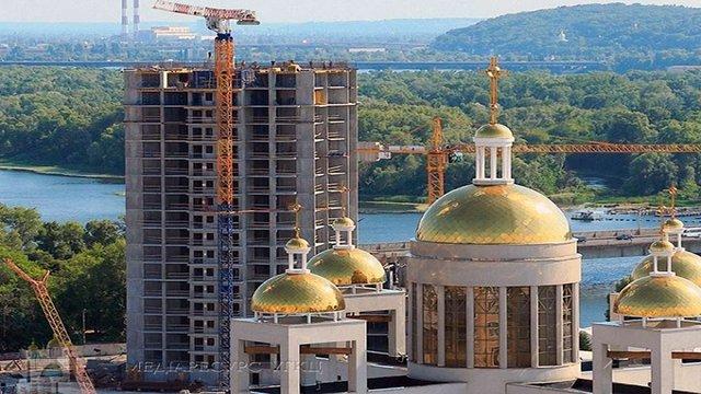 УГКЦ висловила протест через будівництво багатоповерхівки біля Патріаршого Собору у Києві
