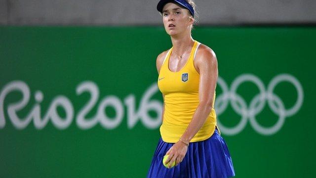 Українська тенісистка розгромно програла у чвертьфіналі Олімпіади-2016