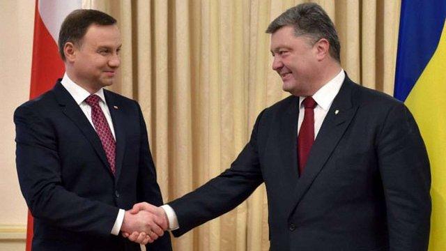 Президенти Польщі та України готують спільну політичну декларацію, - МЗС України