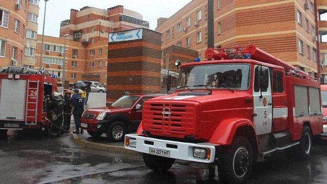 У Києві стався вибух у підземному паркінгу