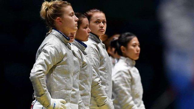 Українські шаблістки завоювали срібло Олімпіади-2016