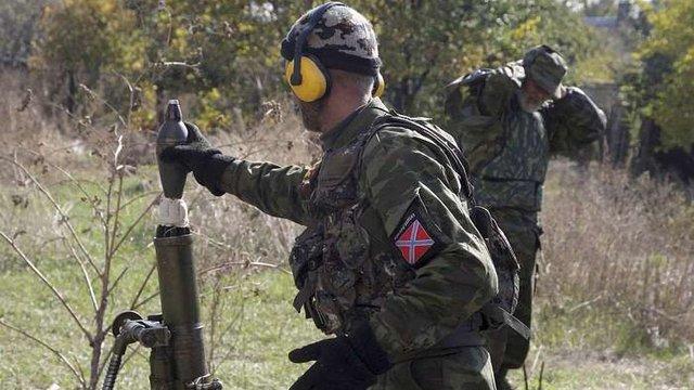 Бойовики провели масований артобстріл українських позицій на маріупольському напрямку
