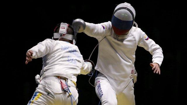 Українські шпажисти розгромили збірну Росії у чвертьфіналі Олімпіади-2016