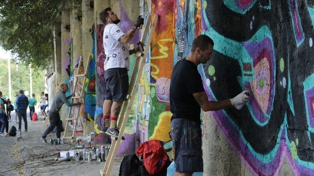 У Львові визначили переможців найбільшого українського графіті-фестивалю