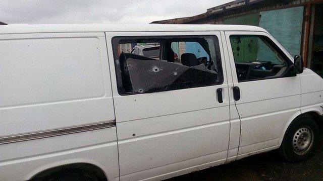 Мікроавтобус російського депутата потрапив під обстріл у «ДНР»