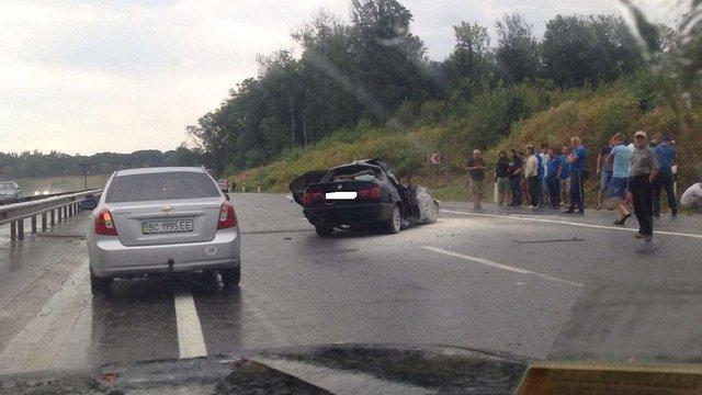 У ДТП на трасі Київ-Чоп загинула 19-річна львів'янка