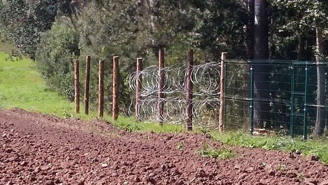 Росія будує паркан на кордоні Польщі та Калінінградської області