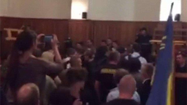 Під час розгляду апеляції активіста ОУН у львівському суді відбулася бійка