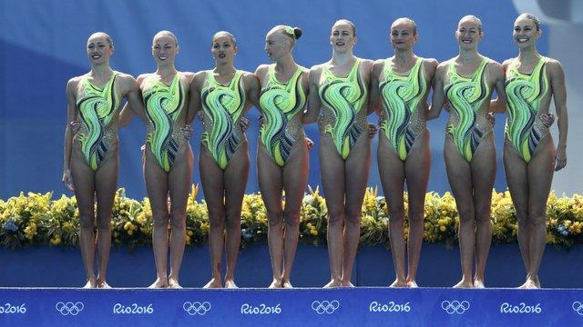 Українські плавчині програли Японії боротьбу за бронзу в синхронному плаванні