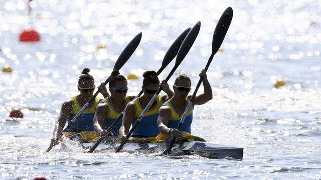 Українські байдарочниці легко вийшли до фіналу Олімпіади