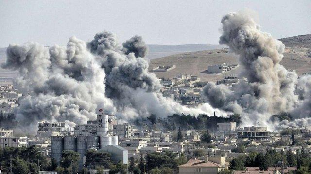 Американські винищувачі не дозволили авіації Ассада бомбити курдські позиції