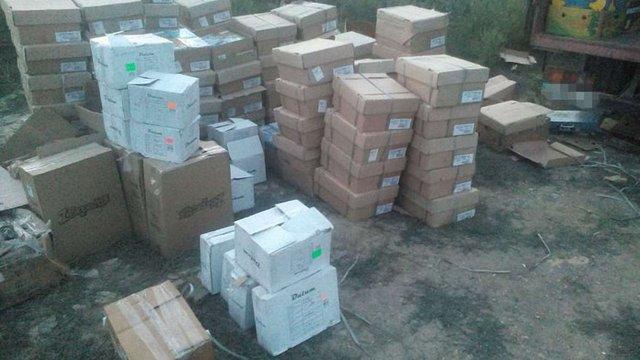На Донеччині СБУ затримала контрабанду на загальну суму понад півмільйона гривень