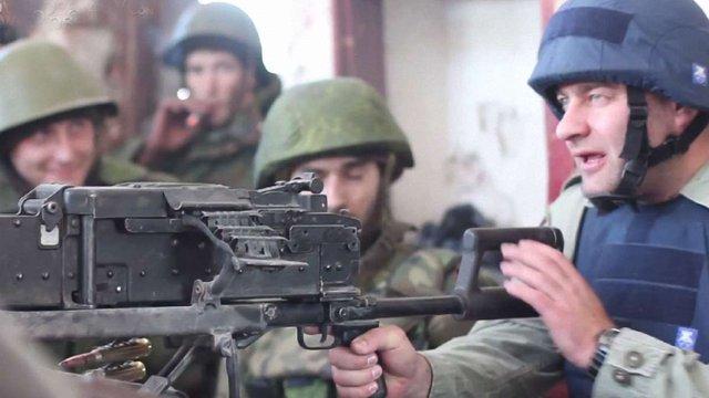 Українські військові захопили в російських диверсантів «кулемет Пореченкова»