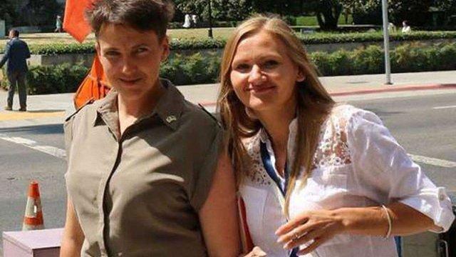 Савченко зізналася, що під час голодування дозволяє собі трішки вина