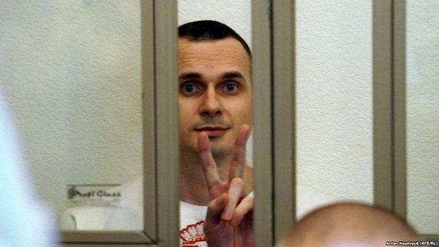 Політв'язень Олег Сенцов написав листа українцям