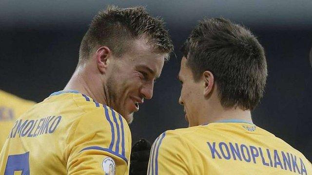 Збірна України може зіграти товариський матч з Аргентиною