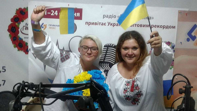 Двоє львівських радіоведучих провели найдовший у світі безперервний радіомарафон