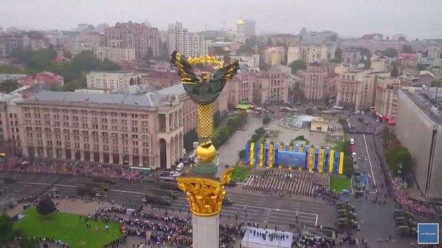 В Києві з нагоди Дня Незалежності України пройшов військовий парад (фото, відео)