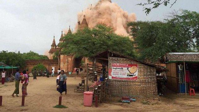 Землетрус у  М'янмі  забрав життя трьох людей