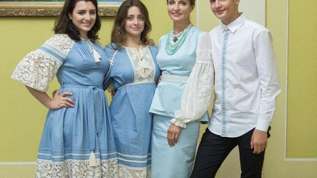 У День Незалежності Марина Порошенко знову обрала українські бренди
