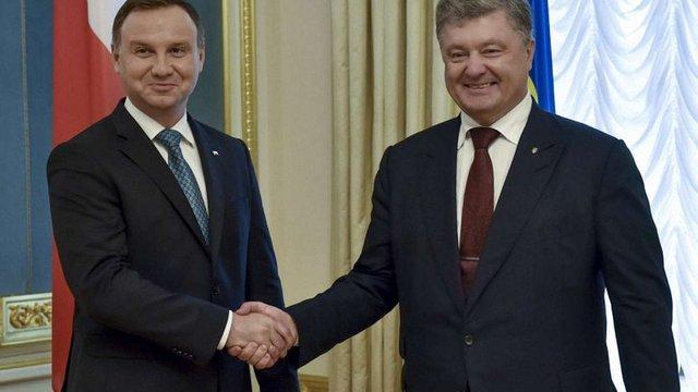 Президенти України і Польщі закликали світ посилити тиск на Росію