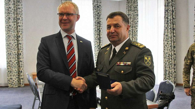Україна та Естонія планують спільні військові навчання у 2017