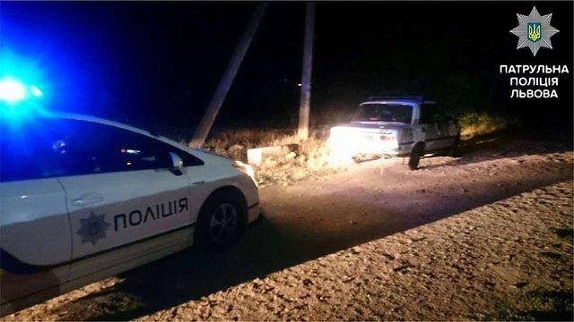 Львівські патрульні пострілами зупиняли п'яного водія-втікача