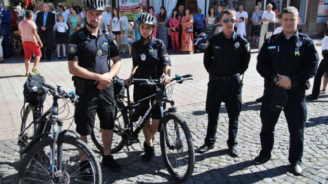 У Мукачеві з'явився велопатруль