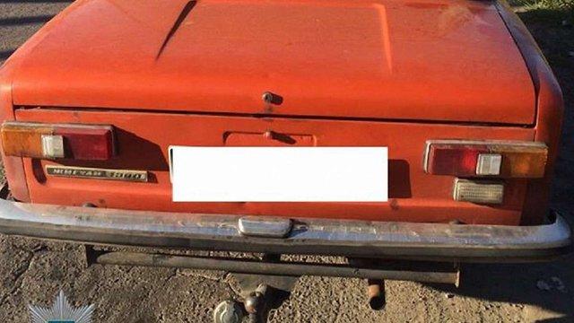 Патрульні знайшли викрадений вночі у львів'янина автомобіль