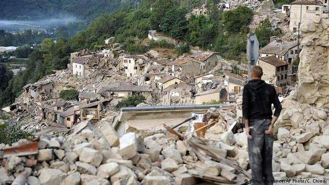 В центральній Італії сталися нові підземні поштовхи