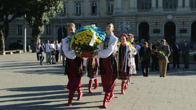 У Львові відзначили 160-ту річницю від дня народження Івана Франка