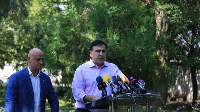 Саакашвілі вважає, що у Одеси хочуть відібрати «Євробачення»