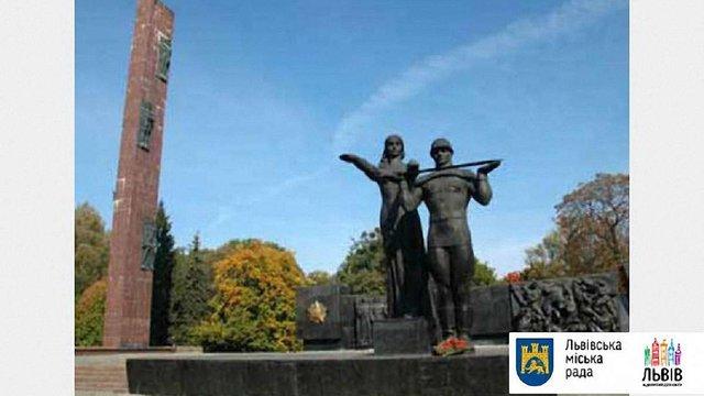 У Львові поблизу двох радянських пам'ятників встановили відеокамери