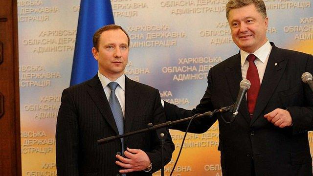 Порошенко звільнив Ложкіна з посади голови АП і призначив на цей пост Ігоря Райніна