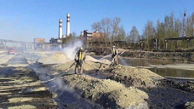 У Новому Роздолі на Львівщині горіла сірка