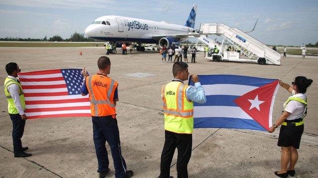 США і Куба відновили авіасполучення після 55-річної перерви