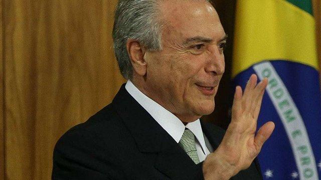 У Бразилії інавгурували нового президента