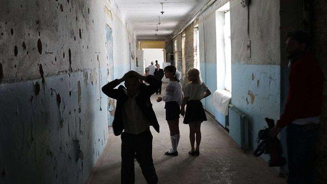 День знань на Донеччині вдалося провести без загрози для життя школярів