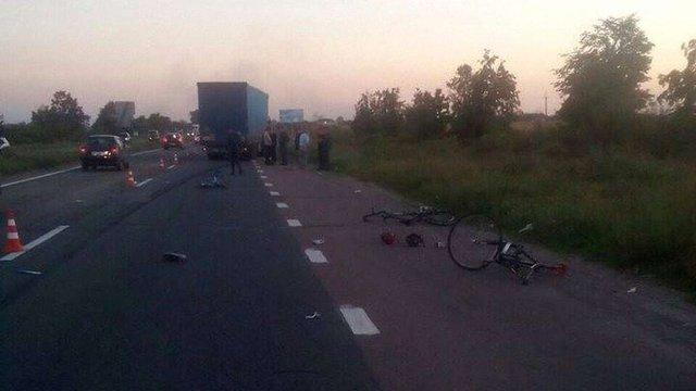Поліція розповіла подробиці ДТП з групою велосипедистів на Київщині