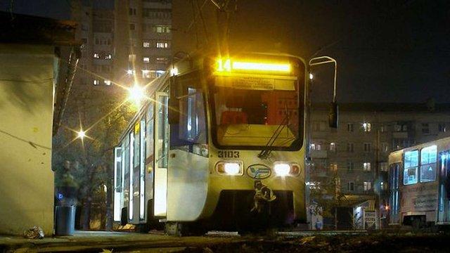 У Харкові трамваї і тролейбуси курсуватимуть уночі