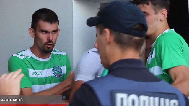 У Хмельницькому поліція сльозогінним газом розігнала бійку футболістів